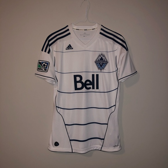 Adidas Youth Vancouver Whitecaps 2012 Home Jersey